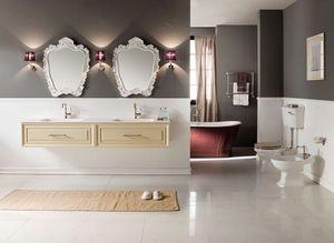 BLEU PROVENCE - meuble charme 5 - Meuble De Salle De Bains