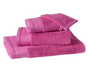BLANC CERISE - serviette de toilette - coton peigné 600 g/m² - un - Serviette De Toilette