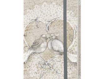 Mathilde M - carnet 90 pages amour d'oiseaux - Carnet