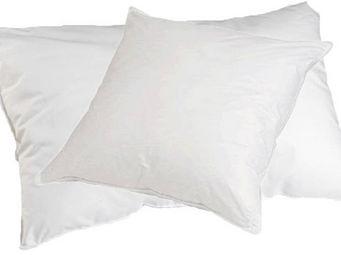 SIRETEX - SENSEI - oreiller enveloppe percale coton garnissage polyes - Oreiller