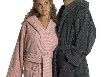 SIRETEX - SENSEI - peignoir velours à capuche warm wool adulte - Peignoir De Bain