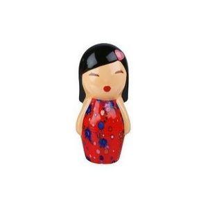 Present Time - tirelire japonaise rouge - Tirelire