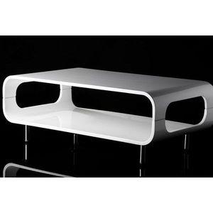 WHITE LABEL - table basse design austin - Table Basse Rectangulaire