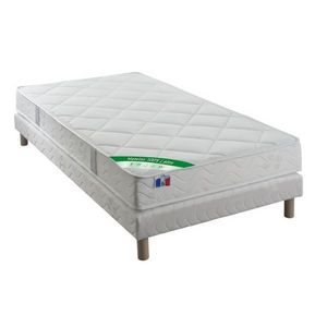 ECO LITERIE - ensemble matelas ursule 100% latex + sommier - Ensemble Literie