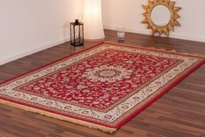 NAZAR - tapis kashmir 160x230 red - Tapis Traditionnel