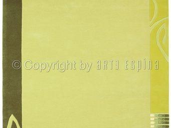 Arte Espina - tapis de salon easy going 3 vert 140x200 en acryli - Tapis Contemporain