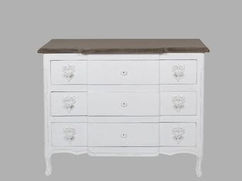 BLANC D'IVOIRE - paola blanc antique - Commode