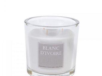 BLANC D'IVOIRE - jasmin de capri - Bougie Parfum�e