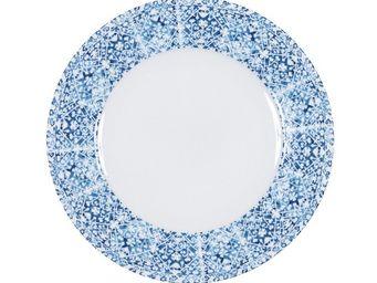 BLANC D'IVOIRE - mosaique - Assiette Plate