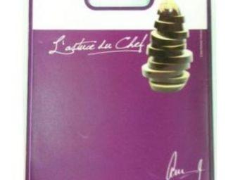 Cm - planche �d�couper message - couleur - violet, for - Planche � D�couper
