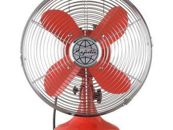 La Chaise Longue - ventilateur majestic rouge - Ventilateur