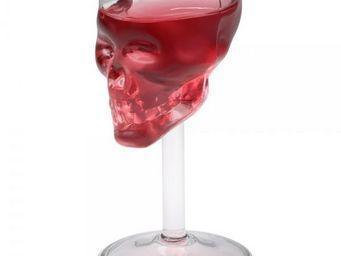 La Chaise Longue - verre à liqueur skull - Verre