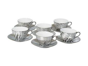 La Chaise Longue - coffret de 6 tasses thé optica - Tasse À Café