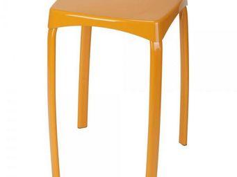 La Chaise Longue - tabouret arco orange - Tabouret