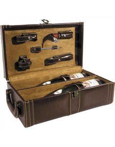 Aubry-Gaspard - coffret avec 5 accessoires de cave - Coffret Oenologique