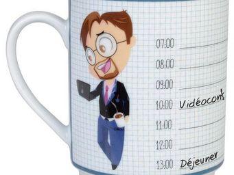La Chaise Longue - mug de bureau agenda homme - Mug