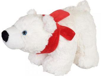 La Chaise Longue - peluche ours blanc pm - Peluche