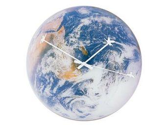 INVOTIS - horloge murale planète - Horloge Enfant