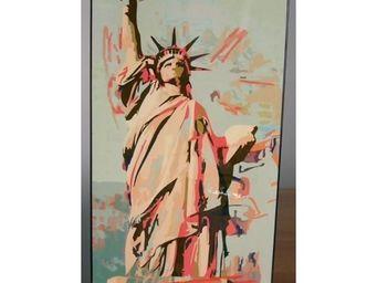 Extreme design - panneau décoratif statue de la liberté - Tableau Décoratif