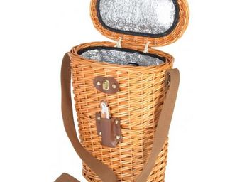 La Chaise Longue - porte 2 bouteilles isotherme naturel - Porte Bouteilles
