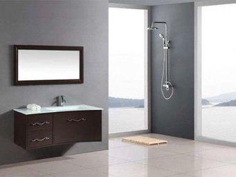 UsiRama.com - ensemble meuble salle de bain lc 1m - Meuble De Salle De Bains