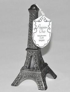 Demeure et Jardin - bougie en forme de tour eiffel - Bougie Décorative