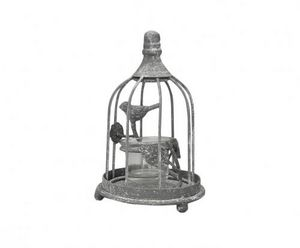 Demeure et Jardin - photophore cage oiseaux - Photophore
