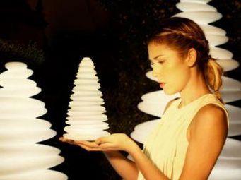 VONDOM - petit sapin de noël lumineux, chrismy - Lampe À Poser