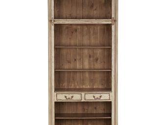Interior's - bibliothèque assemblable 2 tiroirs - Bibliothèque Ouverte