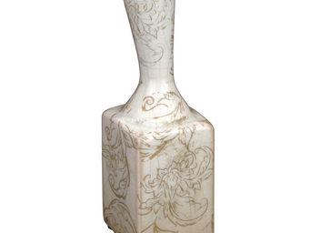 Interior's - vase carré arabesque - Soliflore
