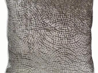 Interior's - housse de coussin grise tissée - Housse De Coussin