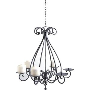 Aubry-Gaspard - lustre chandelier 6 bougies - Suspension