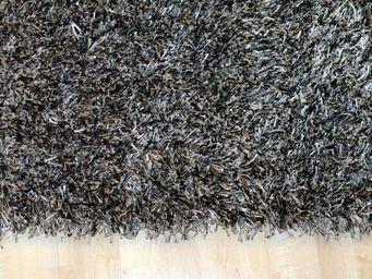 WHITE LABEL - feeling tapis épais gris foncé - 90x160 cm - Tapis Contemporain