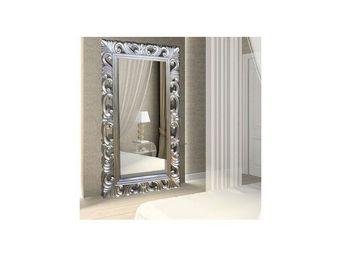 DECO PRIVE - téléviseur miroir 32 pouces bois argenté - Miroir