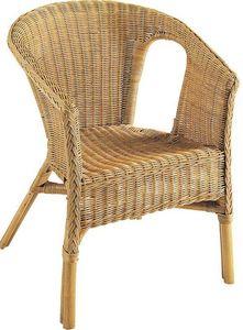Aubry-Gaspard - fauteuil en rotin helene - Fauteuil De Jardin