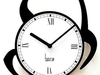 HORA - horloge murale look@cat - Horloge Murale