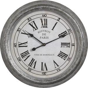 Aubry-Gaspard - horloge bistrot de paris - Horloge Murale