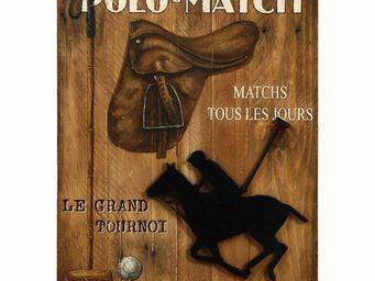 Interior's - enseigne sport polo - Tableau D�coratif