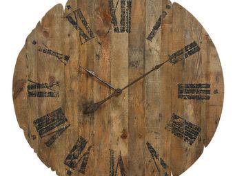 Interior's - horloge pliante en bois - Horloge Murale