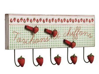 Interior's - crochet torchons fraises - Pat�re