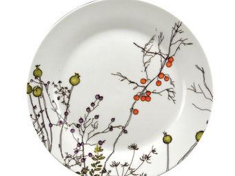 Interior's - assiette dessert baies d'automne - Assiette À Dessert