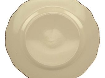 Interior's - assiette plate vanille - Assiette Plate