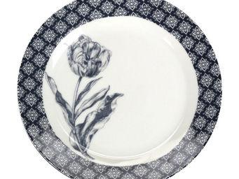 Interior's - assiette plate clair obscur - Assiette Plate