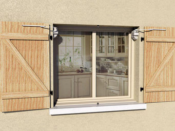 Mantion - wibat applique - Volet Battant Plein