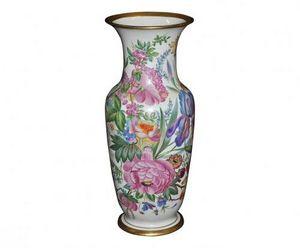 Demeure et Jardin - vase fleuri style napoléon iii - Vase Décoratif