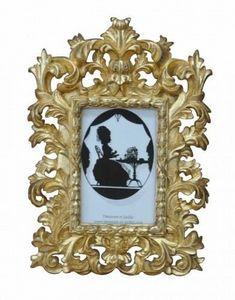 Demeure et Jardin - cadre photo baroque doré - Miroir