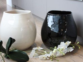 Les Poteries Clair de Terre - -yin yang ma� - Cache Pot