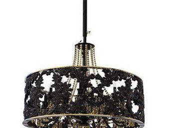 ALAN MIZRAHI LIGHTING - gras koket muse black pearl - Lustre