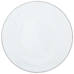 Raynaud - monceau platine - Assiette De Présentation