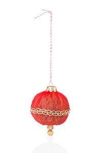 ROSSO CUORE - christmas balls - D�coration De Sapin De No�l